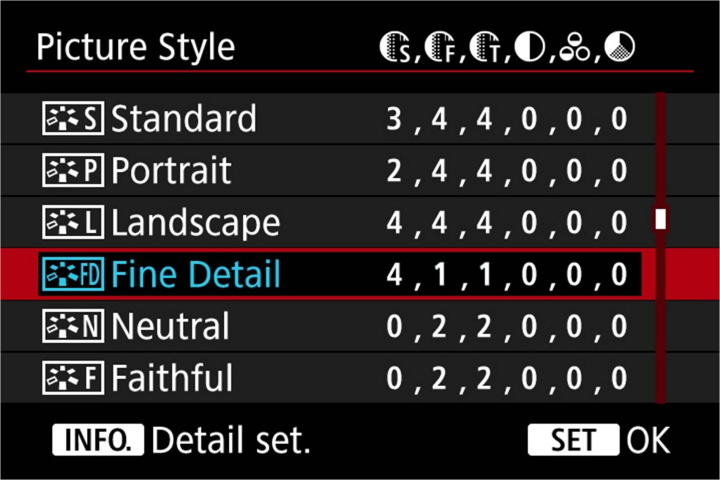Canon Professional eXchange - New Picture Style and Sharpness