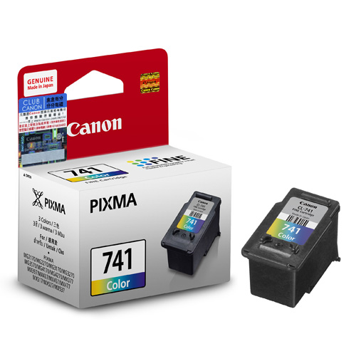 CL 741 Color Ink Cartridge With Print Head Standard Capacity Suggested Retail Price HK178 741XL High